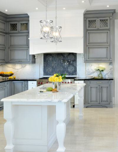 Grey Kitchen Cabinets