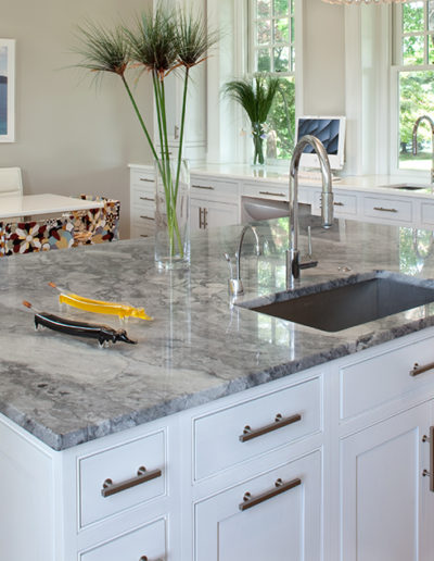 White Kitchen Island Cabinets
