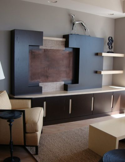 Dark Wood Entertainment Center